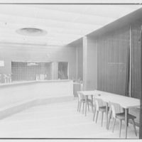 Pepsi-Cola Service Center, 47th St. and Broadway, New York City. Food bar