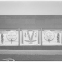 Potomac Electric Power Co. substations. Substation no. 38 window display: War bonds and stamps