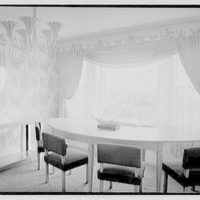 Robert Scott, residence in Vero Beach, Florida. Dining room