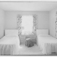 Robert Scott, residence in Vero Beach, Florida. Guest room
