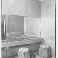 Schrafft's, 82nd and Broadway, New York City. Powder room