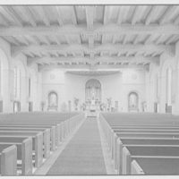 St. Helena's Church and School, Benedict and Olmstead Aves., Bronx, New York. General interior to chancel II