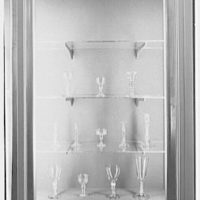 Steuben Glass, business at 718 5th Ave., New York City. Antique English and Irish glass X