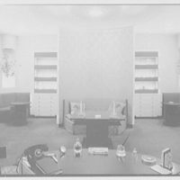 Steuben Glass, business at 718 5th Ave., New York City. Rear room, axis to front