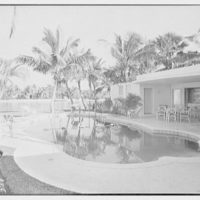 W.D. Pawley, residence at Sunset Island, no. 2, Miami Beach, Florida. Swimming pool II