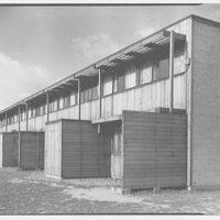 Aluminum City Terrace, New Kensington, Pennsylvania. Garden partitions II, building 28