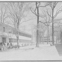 Bainbridge Naval Training Station, Bainbridge, Maryland. Barracks 224, view I