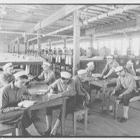Bainbridge Naval Training Station, Bainbridge, Maryland. Barracks interior