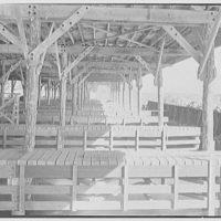 Bainbridge Naval Training Station, Bainbridge, Maryland. Boat docks, interior
