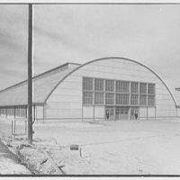 Bainbridge Naval Training Station, Bainbridge, Maryland. Drill hall 401