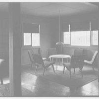 Calvert Houses, College Park, Maryland. Interior lounge II