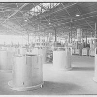 Corning Glass Works, Parkersburg, West Virginia. General plant interior, south end I