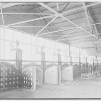 Corning Glass Works, Parkersburg, West Virginia. General plant interior, south end II