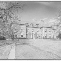 Edgar W. Heller, residence at 368 Mt. Prospect Ave., Newark, New Jersey Entrance facade, from left