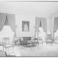 Edgar W. Heller, residence at 368 Mt. Prospect Ave., Newark, New Jersey Living room, to window