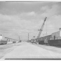 Elmira Holding and Reconsignment Point, Elmira, New York. Loading at warehouses I