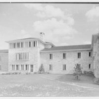 Goucher College, Mary Fisher Hall, Towson, Maryland. West facade I