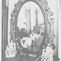 Gypsy Rose Lee, residence at 153 E. 63rd St., New York City. Guest room mirror