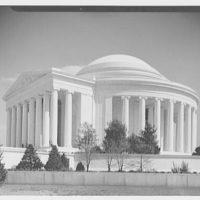 Jefferson Memorial, Washington, D.C. Exterior, including entrance