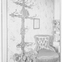 Margaret Sommerfeld, residence at 168 E. 64th St., New York City. Detail of hat rack