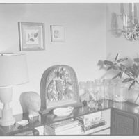 Margaret Sommerfeld, residence at 168 E. 64th St., New York City. Living room, corner, with candy jars II