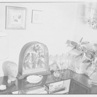 Margaret Sommerfeld, residence at 168 E. 64th St., New York City. Living room, corner, with candy jars I