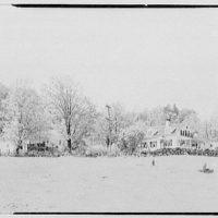 Mr. Ernest Fiene, residence in South Berry, Connecticut. General view from field