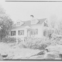 Mr. Ernest Fiene, residence in South Berry, Connecticut. House from road