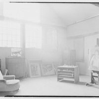 Mr. Ernest Fiene, residence in South Berry, Connecticut. Studio