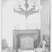 Old Merchant's House, formerly Seabury Tredwell's residence on E. 4th St., New York City. Fireplace detail, front room