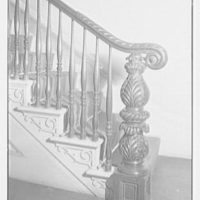 Old Merchant's House, formerly Seabury Tredwell's residence on E. 4th St., New York City. Newel post
