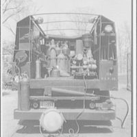 Potomac Electric Power Co. miscellaneous. Fire sprays and fire fighting equipment VII
