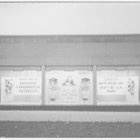 Potomac Electric Power Co. substations. Substation no. 38 window display: Home service daily radio show III