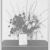 Quartermaster General of the United States Army. Basket of flowers to the Quartermaster from the Paymaster General of the Navy on Army Day, April 6th 1943 I