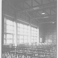 Residence Halls, Arlington Farms, Arlington, Virginia. Detail of recreation hall