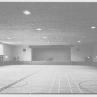 Residence Halls, Arlington Farms, Arlington, Virginia. Recreation building, interior