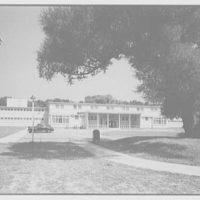 Residence Halls, West Potomac, Washington, D.C. Barton Hall, under tree I