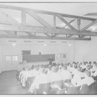 U.S. Coast Guard Academy, Reserve Cadet Buildings, New London, Connecticut. Amphitheatre, class room