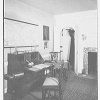 Valley Forge, Pennsylvania. Washington headquarters, reception room