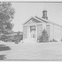 Woodmere Academy, Woodmere, Long Island. Hessel Hall