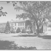 Woodmere Academy, Woodmere, Long Island. Main building and Hessel Hall