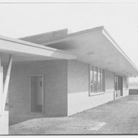 Aberdeen Station, Pennsylvania Railroad, Aberdeen, Maryland. Northbound station, looking south