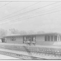 Aberdeen Station, Pennsylvania Railroad, Aberdeen, Maryland. Northbound station I