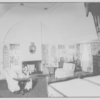 Albert P. Armour, residence at 123 Greenway North, Forest Hills, New York. Master bedroom I