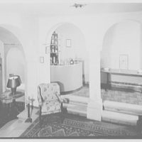 Albert P. Armour, residence at 123 Greenway North, Forest Hills, New York. Playroom bar