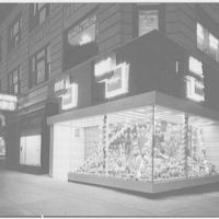 Barton's Bonbonniere, business at 81st and Broadway, New York City. Exterior II