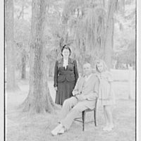 Bernard M. Baruch, Hobcaw Plantation, Georgetown, South Carolina. Mr. and Mrs. Boykin and Frances