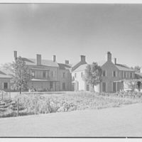 "Chauncey D. Stillman, ""Wethersfield"", residence in Amenia, New York. North facade II"