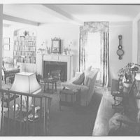 Daniel P. Higgins, residence at 19 E. 88th St., New York City. Living room from foyer