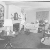 Daniel P. Higgins, residence at 19 E. 88th St., New York City. Living room, general view